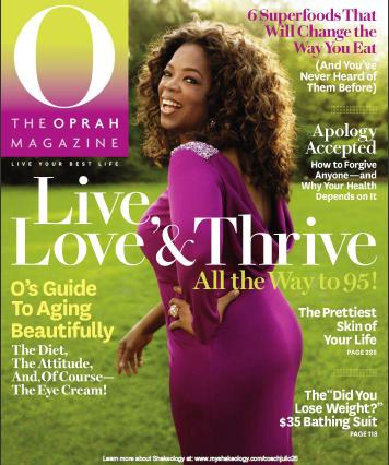 O Magazine May 2011 Article - Shakeology ingredients with Darin Olien