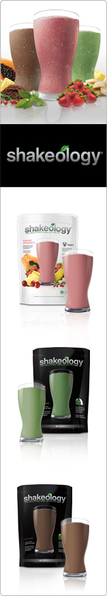 Shakeology Meal Replacement: Tropical Strawberry, Greenberry, Chocolate