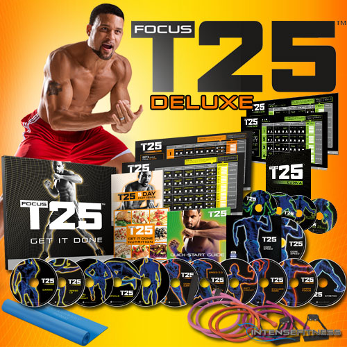 focus t25 deluxe kit