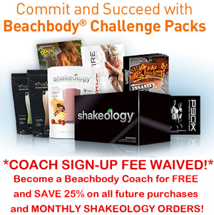 becoming a Beachbody Coach with a Challenge Pack