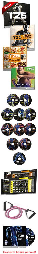 Focus T25 workout dvds
