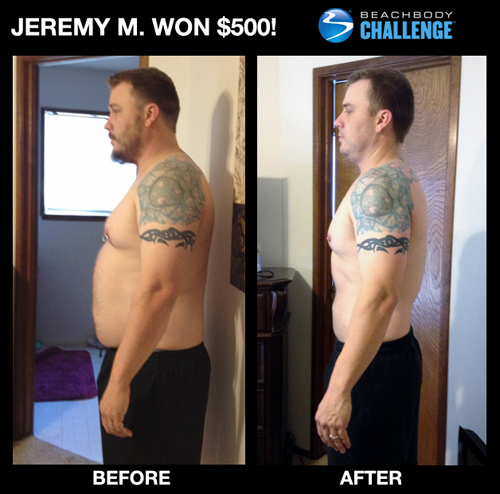 Jeremy M: Les Mills Pump Results
