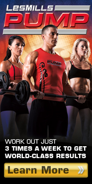 learn more about les mills pump