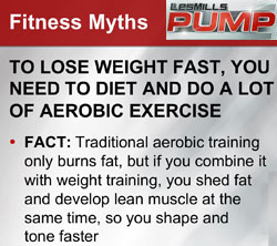 Les Mills Pump: Myth/Fact