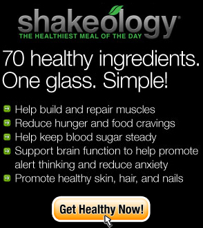 enjoy the benefits of shakeology