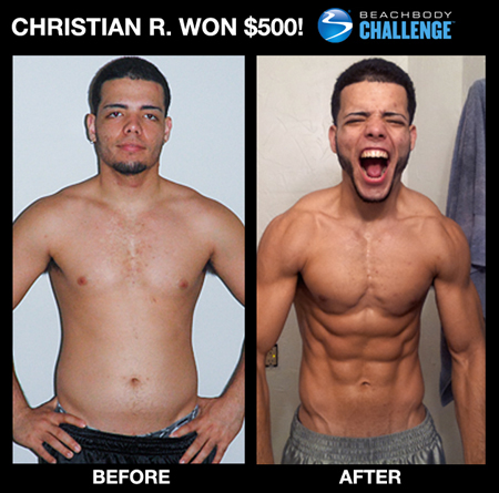 Insanity Workout Before and After: Insanity Results