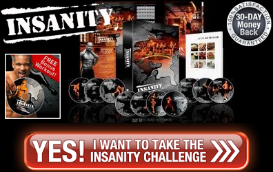 order insanity today to get a FREE workout