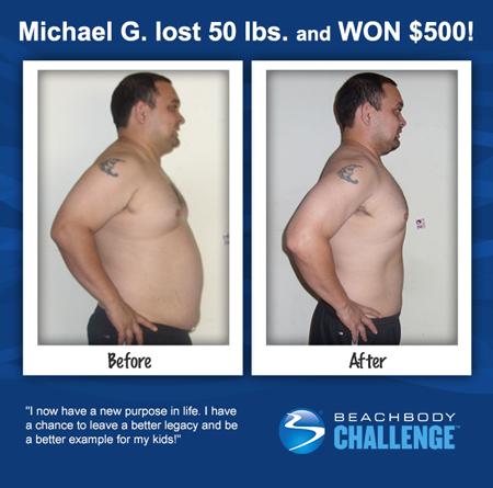 Michael G: Insanity workout results