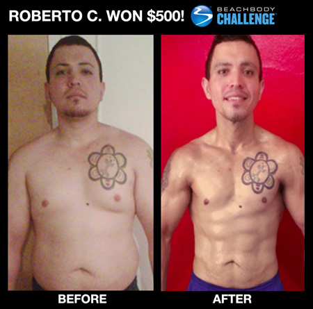 Roberto C: Insanity workout results