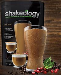 Café Latte Shakeology flavor