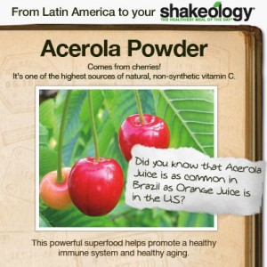 The Beachbody Shakeology shake includes ingredients from around the world.