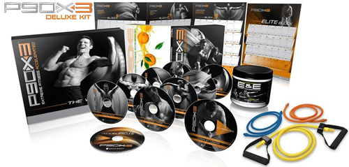 Order P90X3 Deluxe Kit