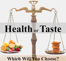 Is Health or Taste more important to you?