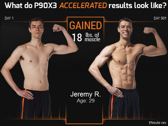 Jeremy Beachbody P90X3 workout reviews