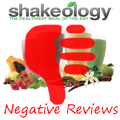 negative shakeology reviews