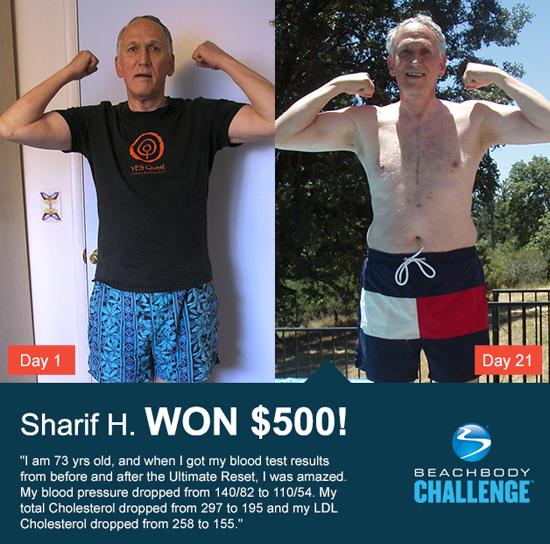 Sharif H: Beach body Ultimate Reset reviews