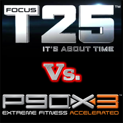 focus t25 vs p90x3