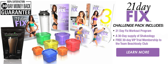 Order Your 21 Day Fix Challenge Pack
