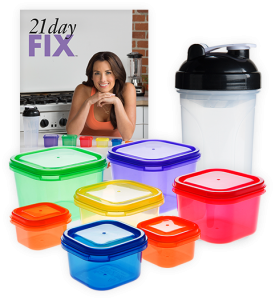 You learn portion control with the 21 Day Fix!