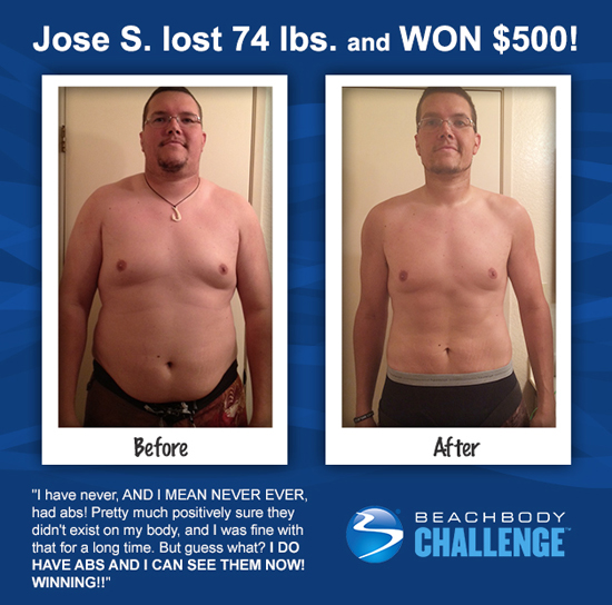 Jose S Focus T25 Results