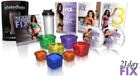 Beachbody 21 Day Fix Challenge Pack