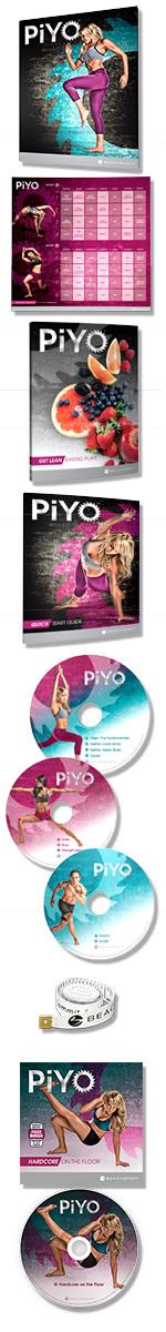 beachbody piyo workout: base kit