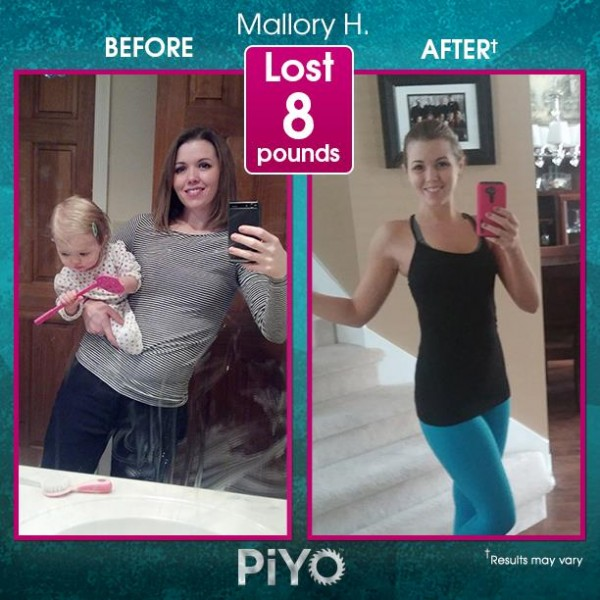 Piyo Workout Results Low Impact Extreme Results