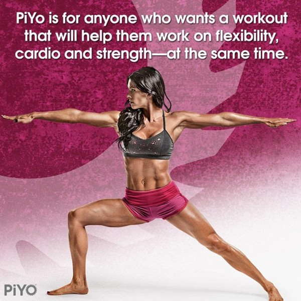With PiYo you get flexibility, cardio, strength, and weight loss! http://www.onesteptoweightloss.com/piyo-workout-results