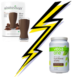 shakeology vs vega one