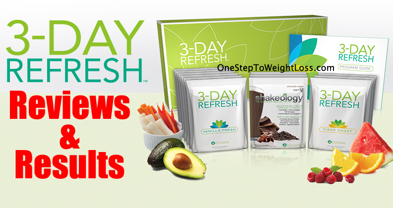 3 Day Refresh Reviews & Results: UP TO 10 LBS LOST