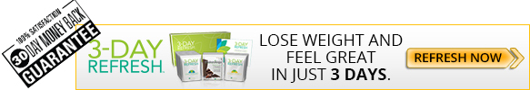 Order Your 3 Day Refresh!