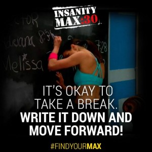Insanity MAX 30 is about going hard until you MAX OUT. Then take a quick break and get back into the game!