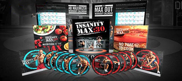 Insanity MAX 30 workout program.