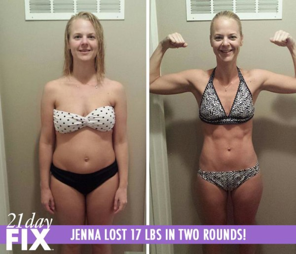 Jannea 21 Day Fix Results Before and After