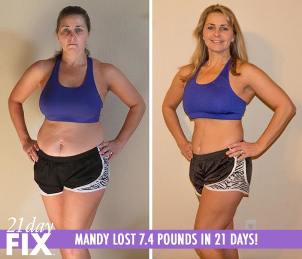 Mandy 21 Day Fix Results Before and After