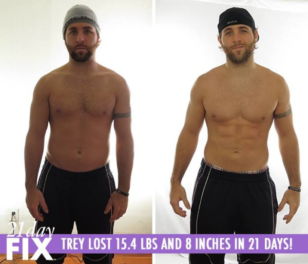 Trey 21 Day Fix Results Before and After