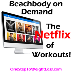 Stream 100's of workouts online with Beachbody on Demand!