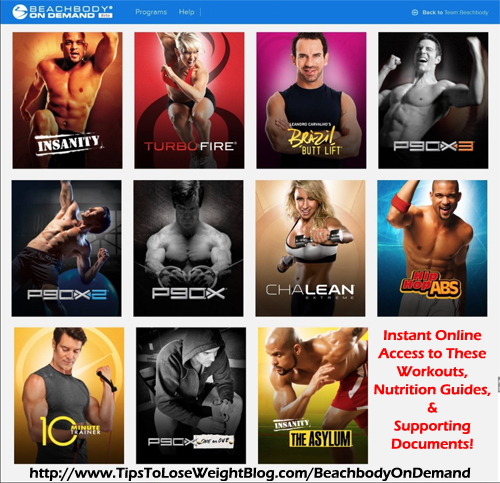 Beachbody on Demand offers you instant access to popular Beachbody workouts!