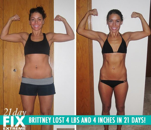 Brittney Got Toned & Loves Her New Body! She Lost 4 LBS