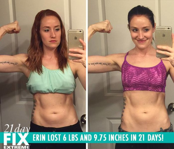 Erin Lost Her Baby Weight & Got Toned! She Lost 6 LBS