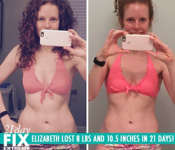 Elizabeth Got Rid Of The Last Stubborn Fat! She Lost 10.5 LBS