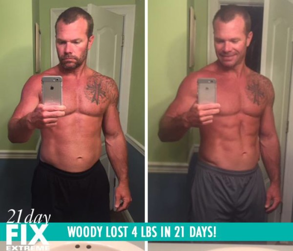 Woody Got Shredded, Says the Eating Plan Was Easy, & He Lost 4 LBS!