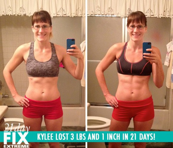Kylee Lost Weight with the 21 Day Fix & Then Got Toned with the 21 Day Fix Extreme!