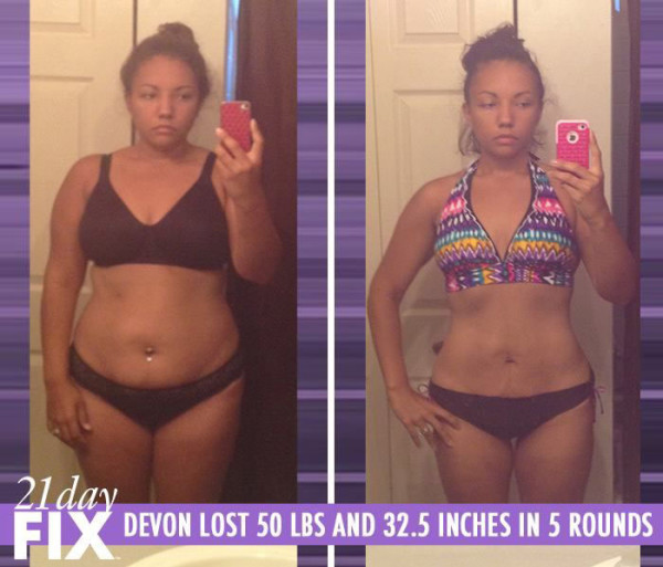 Devon Lost 50 LBS & Completely Changed Her Life Around