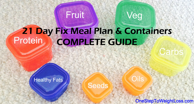 Complete details and guide on the 21 Day Fix portion control containers.