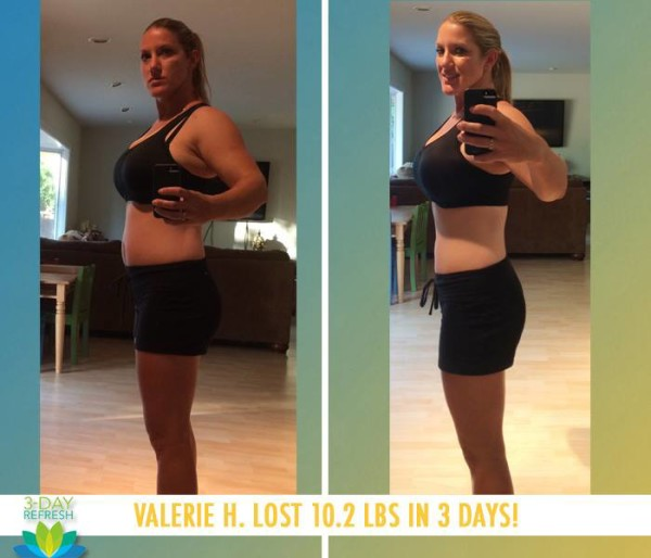 Valerie Felt Awesome & Got Back on Track!