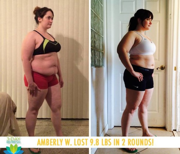 Amberly Says the 3 Day Refresh is a Life Changer!