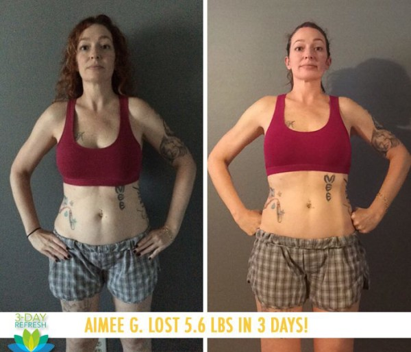 Aimee Never Felt Starved Like With Other Cleanses!