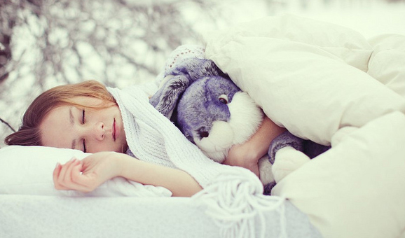 Sleep in the cold to burn off a few extra calories!