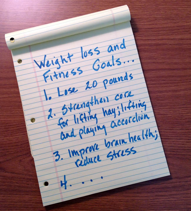 Before losing weight, make sure to set specific and measurable weight loss goals!